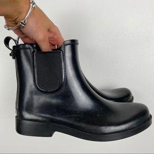 Coach Tyler Rubber Chelsea Rain Boots